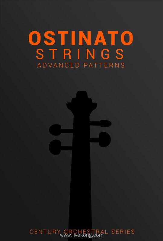 8Dio Century Ostinato Strings Chapter II KONTAKT 弦乐节奏型弦乐工具