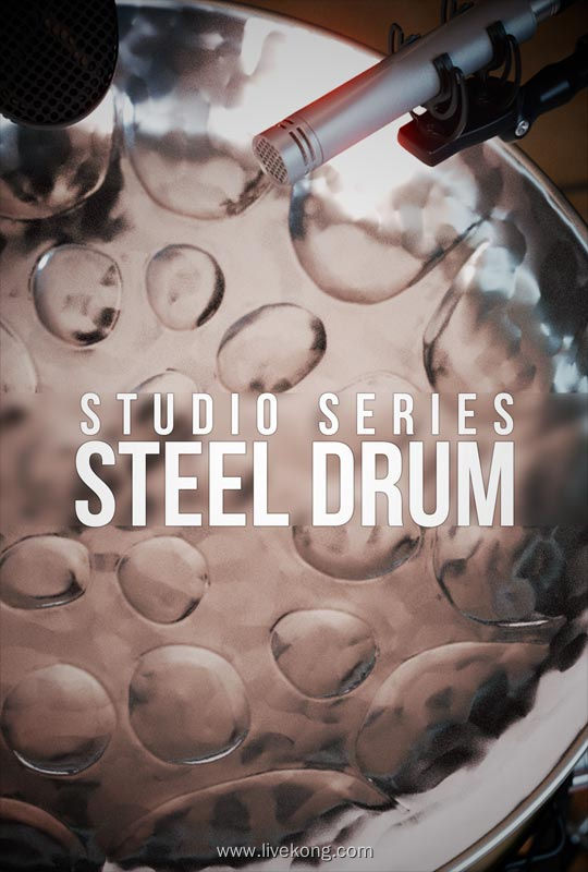 8Dio Studio Steel Drum KONTAKT 工作室钢鼓