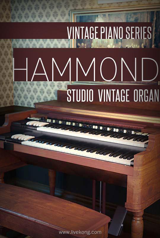 8Dio Studio Vintage Series Studio Organ KONTAKT 工作室风琴